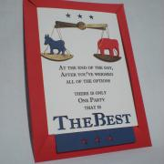 2012 Election Night Party Invitations